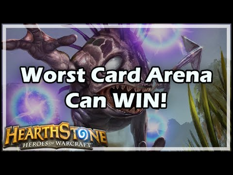 [Hearthstone] Worst Card Arena Can WIN!