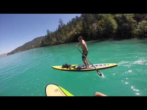 Paddle Boarding Kalamalka Lake, Okanagan BC, Canada - FULL MOVIE