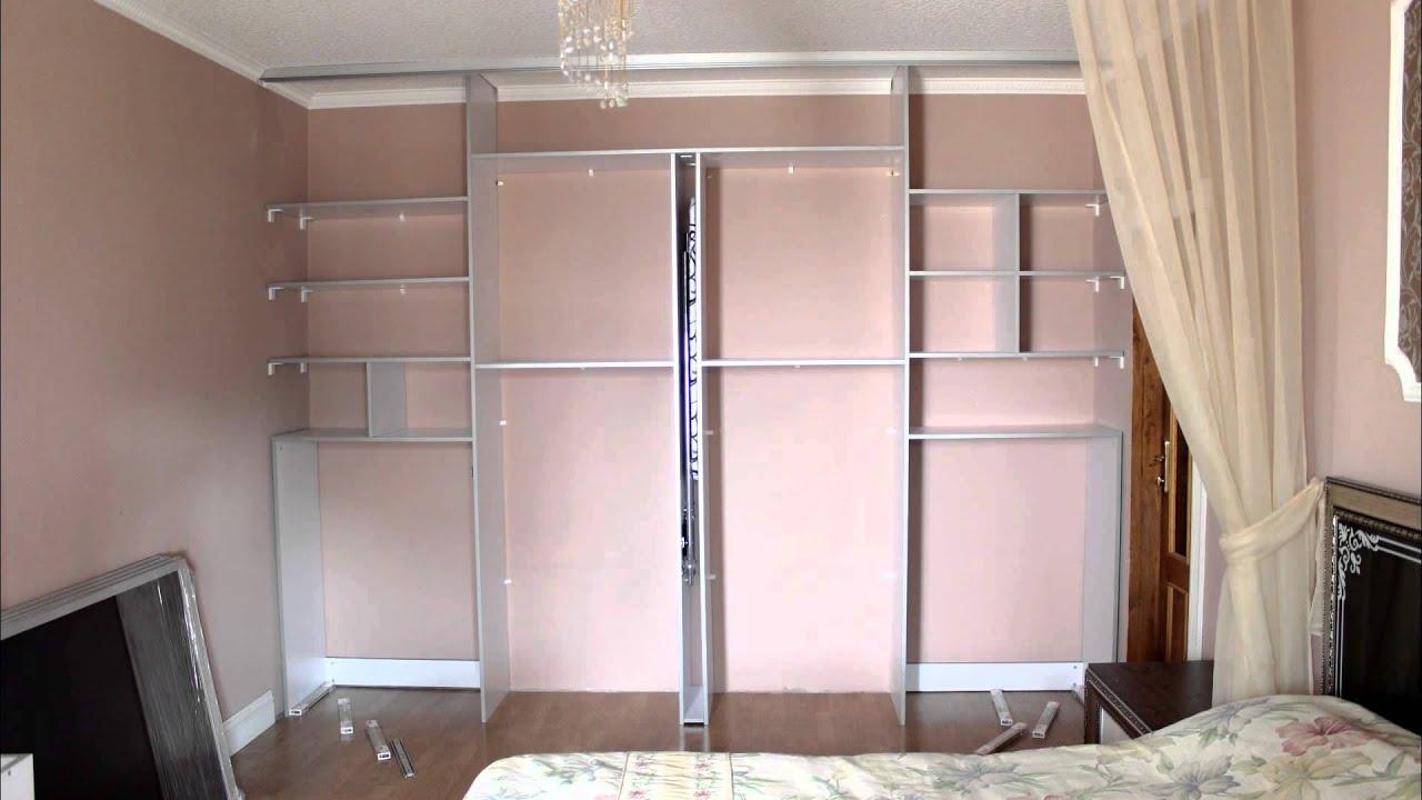 встроенный шкаф купе в спальню Youtube