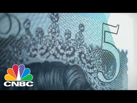 Bank Of England's New Five Pound Note More Secure, Resistant | CNBC