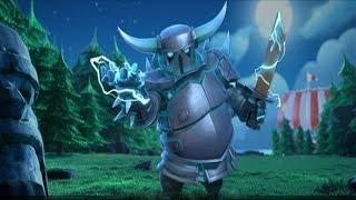 Clash of Clans Builder Hall 8 Official Super P.E.K.K.A and Mega Tesla UPDATE! Animated Trailer