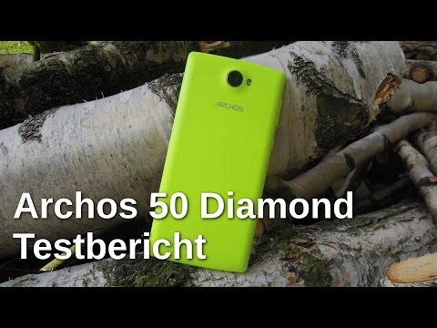 Archos 50 Diamond Testbericht - www.technoviel.de