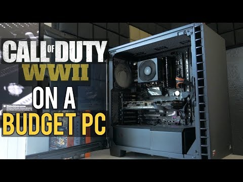 CAN CALL OF DUTY WWII GET 60FPS ON A CHEAP PC?