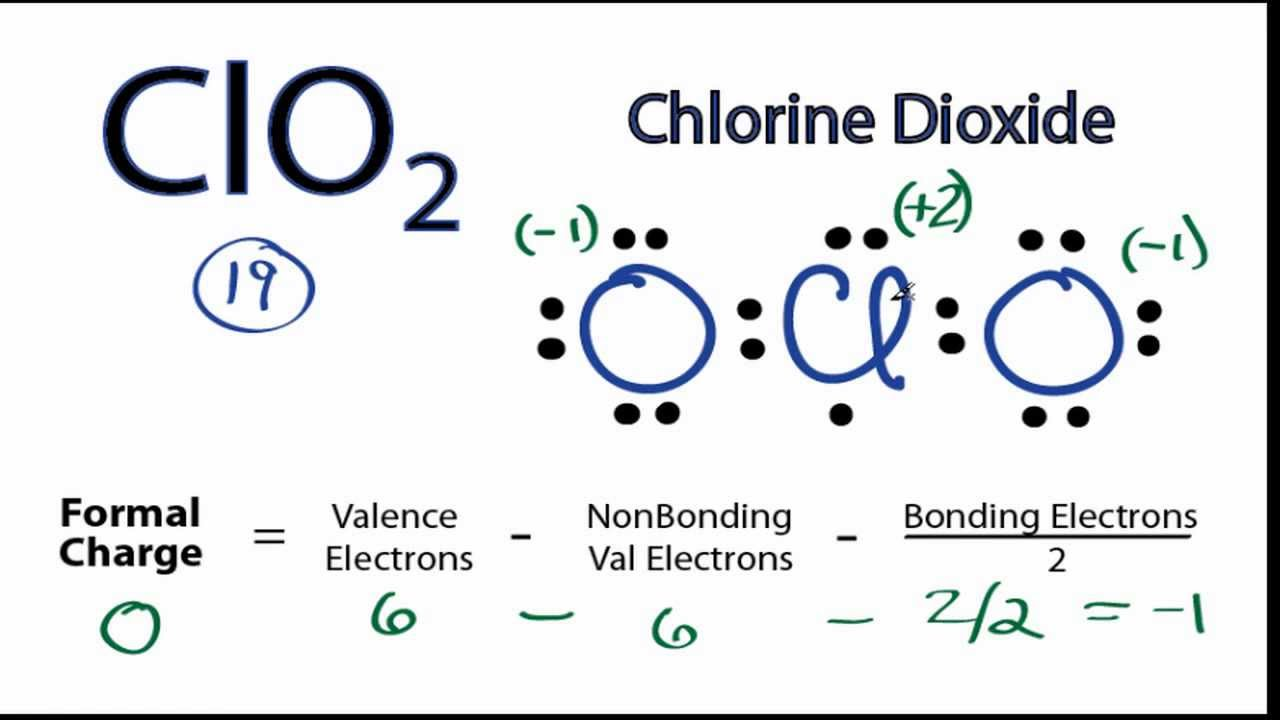 ClO2 Lewis Structure: How to Draw the Lewis Structure for ClO2 - YouTube