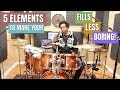 HOW TO MAKE Your FILLS LESS BORING! - 5 Elements For Tastier Fills