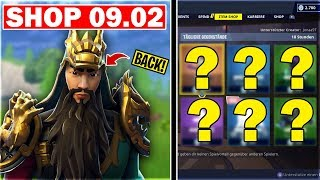 HE is BACK! GUAN YU SKIN in Fortnite SHOP from today 09.02   Battle Royale Shop today German