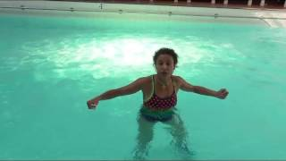 vuclip Aqua Aerobics water workout move travelling shallow with Marietta Mehanni