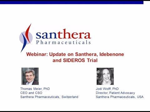 [Webinar] Idebenone Clinical Trials in Duchenne - March 2017