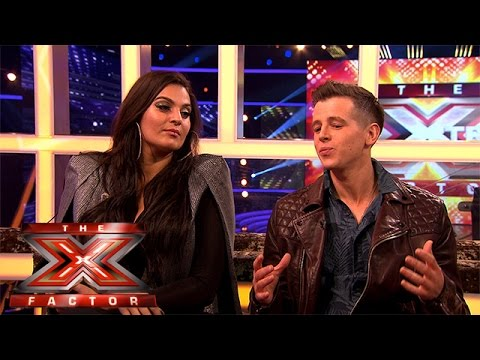 Max and Monica give their verdicts after being eliminated | The Xtra Factor 2015