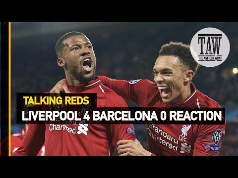 Barcelona Reaction  Talking Reds