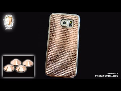 samsung s6 phone case rose gold