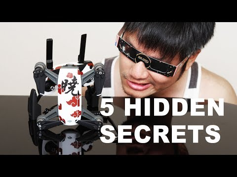 DJI Spark 5 Hidden Secrets YOU WANT TO KNOW!