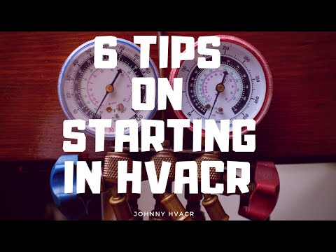 Hvac 6 TIPS AND STUDY INFO FOR NEW APPRENTICES OR PEOPLE INTERESTED IN THE TRADE HVAC Apprenticeship