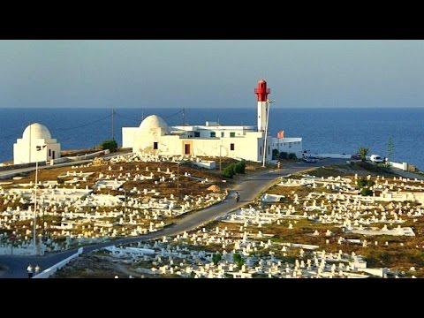 Mahdia, Tunisia, Cap de Afrique and Marine cemetery