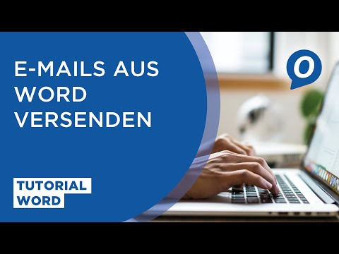 MS Word: E-Mails Aus Word Versenden