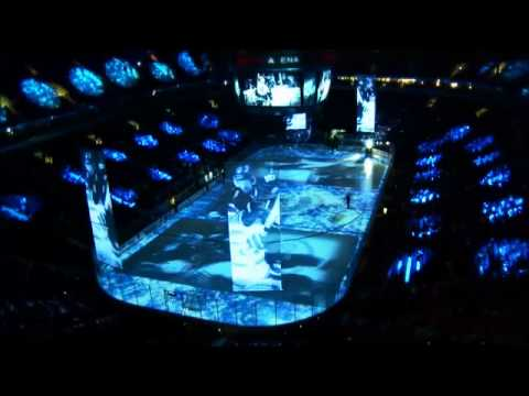 Canucks Opening Presentation at Rogers Arena - 2011 - HD