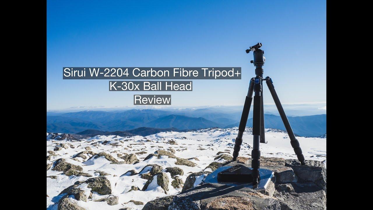 Sirui W 2204 Carbon Fibre K 30x Review 2018 Youtube
