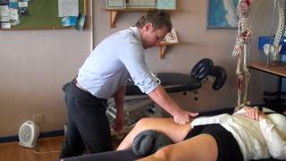 Myofascial release of the Rectus femoris, quadriceps and IT Band using Soft Tissue release (STR)