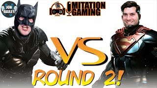 ROUND 2 BATMAN V SUPERMAN!