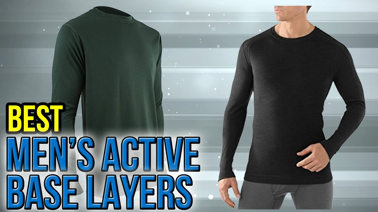 8 Best Men's Active Base Layers 2017 - YouTube