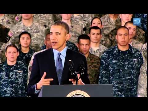 Obama Thanks Afghanistan War Troops At Fort Dix - Full Speech