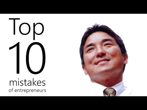 Guy Kawasaki: Top ten mistakes of entrepreneurs
