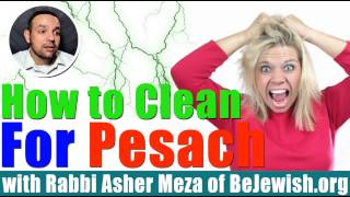 How to Clean for Pesach