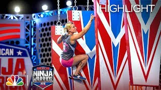 Team Kristine's Stage 3 Run - American Ninja Warrior: All Stars 2018