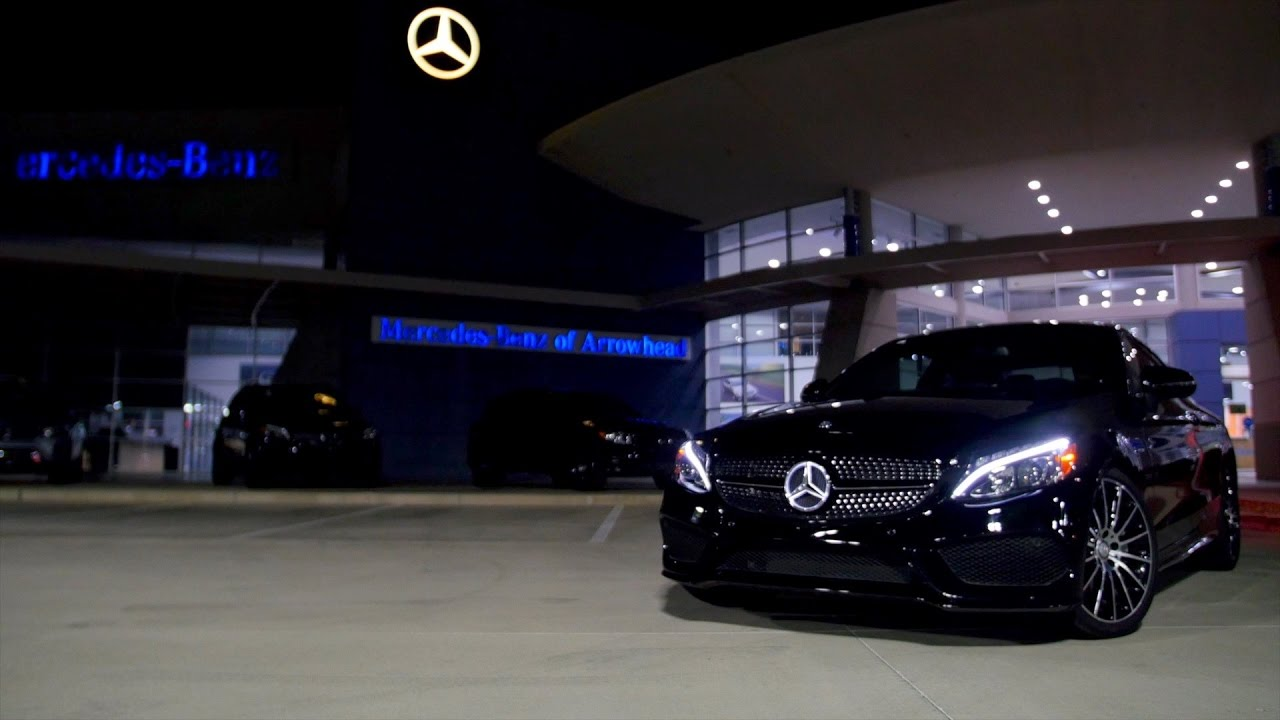 genuine illuminated star - before and after video - from mercedes