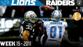 Megatron Comes Through in the Clutch (Lions vs. Raiders, 2011)   NFL Vault Highlights