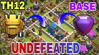 Clash of Clans - TOWN HALL 12 (TH12) BASE w/PROOF   Th12 Trophy Base / Farming Base / Hybrid Base