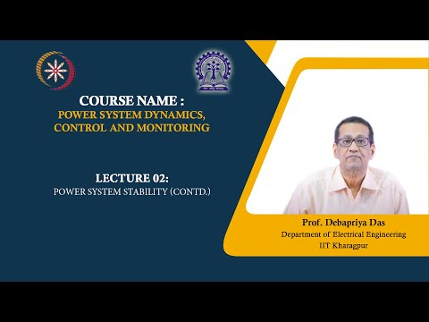 Lecture 02: Power System stability (Contd.) thumbnail