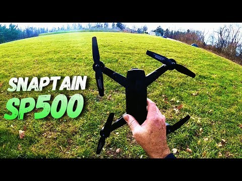 SNAPTAIN SP500 Foldable GPS FPV Drone with 1080P HD Camera,GPS Return Home,Follow Me