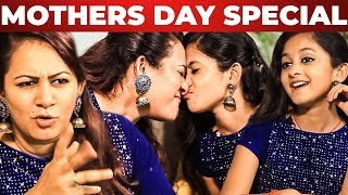 """""""My Daughter is My Only Support"""" Fun Interview with VJ Archana & Her Daughter Zaara"""