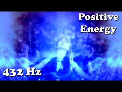 "Positive Energy (1 hour / 432 Hz Stimulation) - ""Dreaming Voices Calling Rain"""