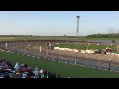 June 1st Devils Lake Speedway Late model Heat 1