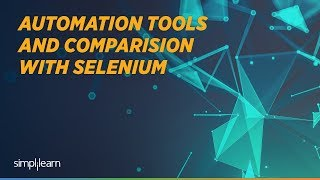 Automation Tools For Testing | Selenium Vs QTP | Selenium Training  | Simplilearn