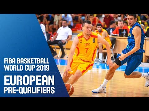 MKD v Kosovo - Full Game - FIBA Basketball World Cup 2019 - European Pre-Qualifiers