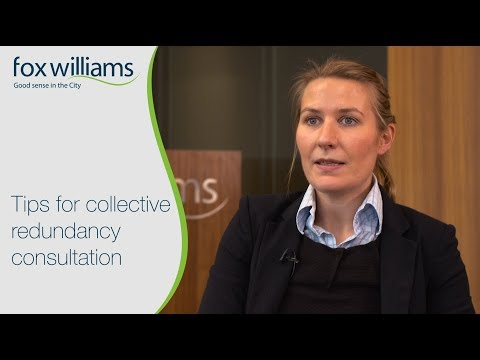 Tips for collective redundancy consultations - Fox Williams LLP