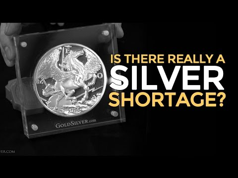 Silver Shortage - Is It Real? Mike Maloney