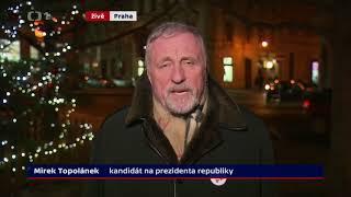 Mirek Topolánek: referendum, euro... (Prezidentské volby 2018)