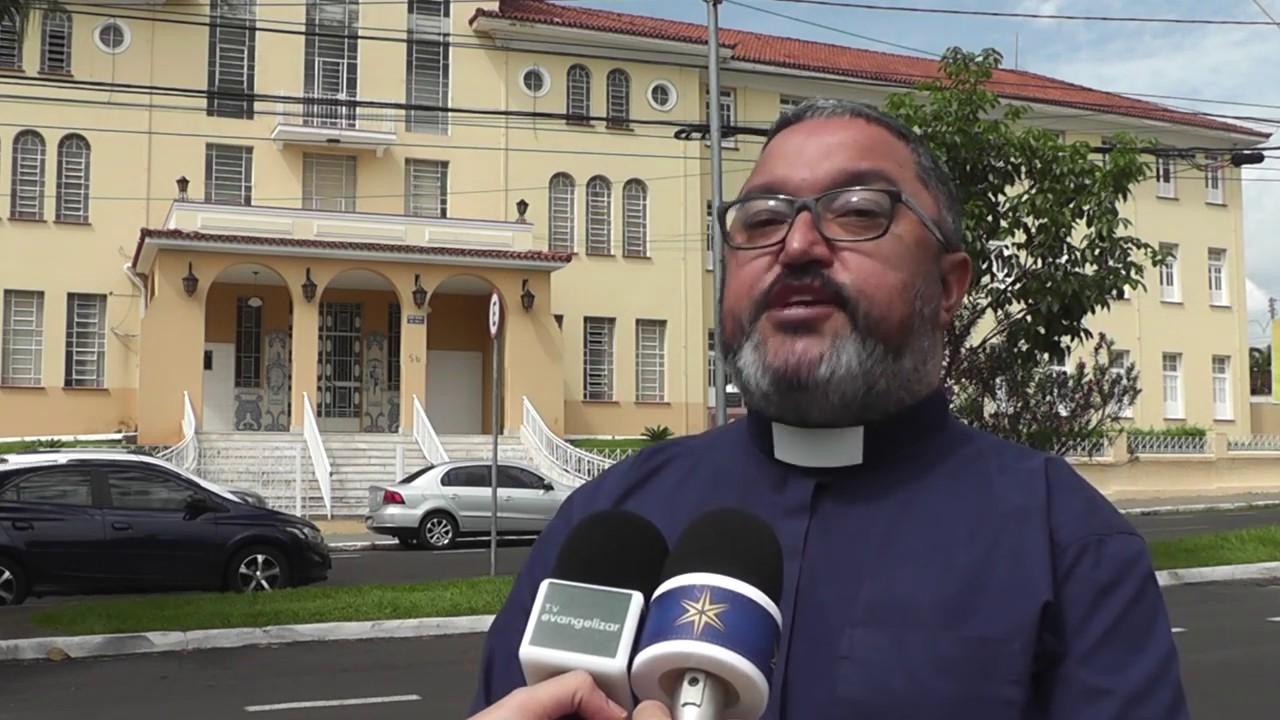 Padre Alexsandro fala sobre o título concedido ao Santuário-Basílica de Nossa Senhora da Abadia
