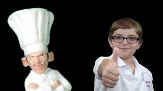 Cooking With Kade Makes Shrimp Boulettes For World Recipe Hunter Chef Antonio Bourbon