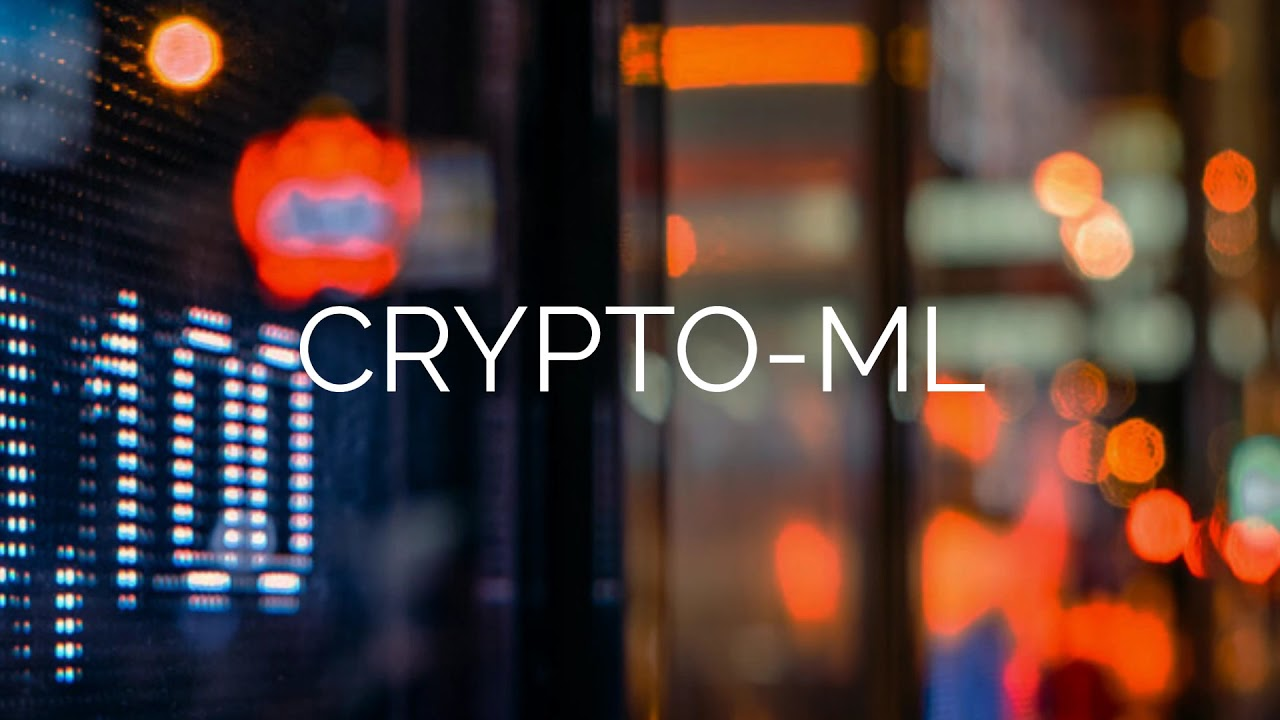 machine learning in cryptocurrency