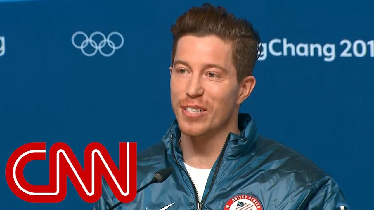 Shaun White reacts to 3rd Olympic gold #1