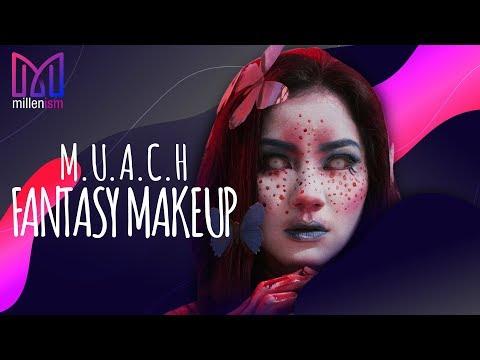 'Beauty Killers' Fantasy Makeup Tutorial l M U A C H x Ote Aviane 2.0