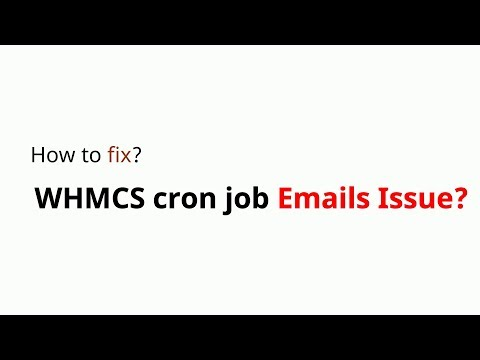 How To Fix Whmcs Pop Php Cron Emails Issue