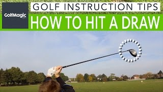 Golf Instruction Tips #7: How to hit a draw and stop shots going right