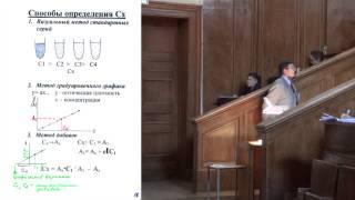 Лекция 9. Введение в спектроскопические методы анализа