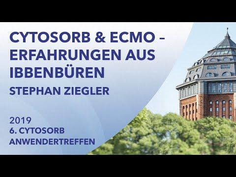 CytoSorb und ECMO - Erfahrungen aus Ibbenbüren | Stephan Ziegeler